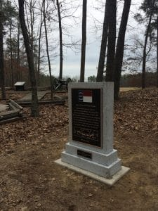 Custom Cast Bronze Memorial Plaques and Lawn Markers NC Brigade