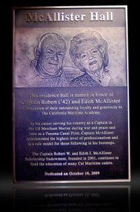 Embossed Cast Bronze Portrait Plaque McAllister