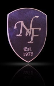 Cast Bronze & Aluminum Medallion & Seal NF